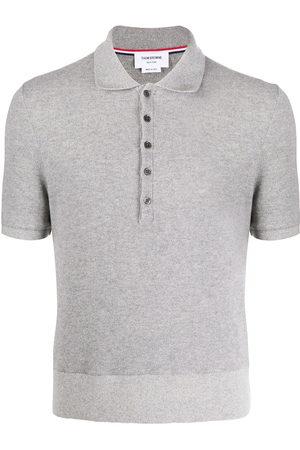Thom Browne Cashmere pique polo shirt