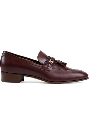 Gucci Herren Halbschuhe - Web detail loafers