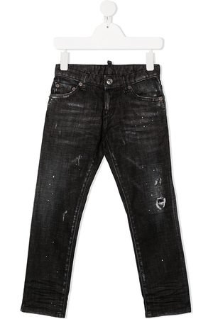 Dsquared2 Jungen Jeans - Distressed skinny jeans