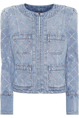 Balmain Verzierte Jeansjacke
