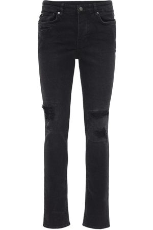 "KSUBI Enge Jeans Aus Baumwolldenim ""boneyard"""