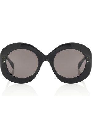 Alaïa Ovale Sonnenbrille