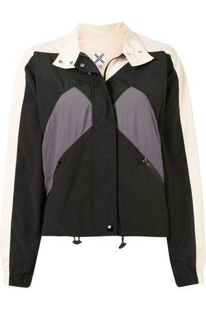 Kenzo Damen Outdoorjacken - Short stripe detail windbreaker