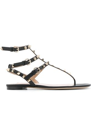 VALENTINO GARAVANI Damen Sandalen - Rockstud flat sandals