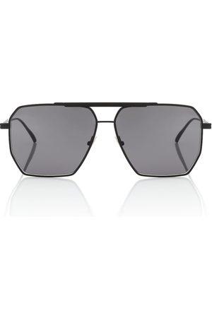 Bottega Veneta Eckige Aviator-Sonnenbrille