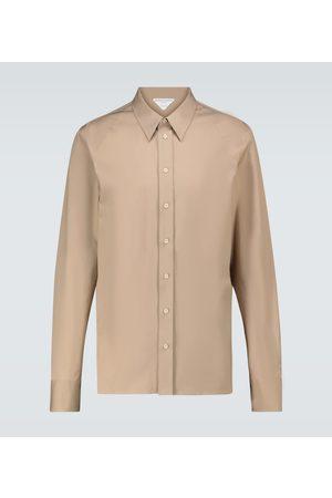 Bottega Veneta Hemd aus Stretch-Baumwolle