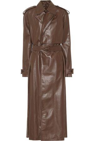 Bottega Veneta Trenchcoat aus Leder