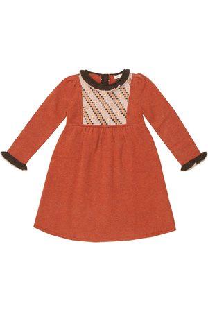 Caramel Baby Kleid Nightingale aus Merinowolle