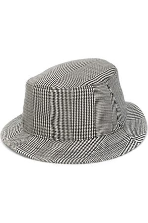 Thom Browne Prince of Wales check bucket hat