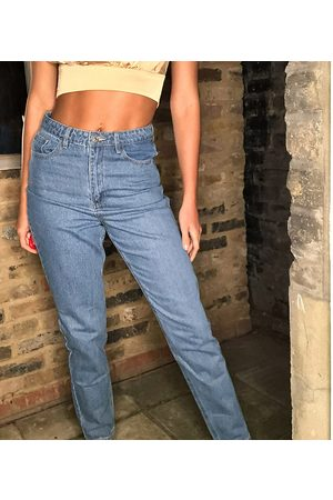 Missguided Damen Baggy & Boyfriend - Riot high waisted mom jeans in