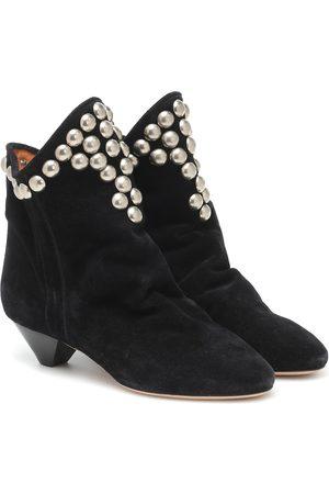 Isabel Marant Ankle Boots Doey aus Veloursleder