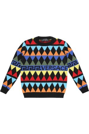 VERSACE Pullover aus Wolle