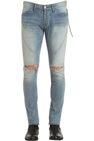 "SEIGEKI 16cm Jeans Aus Denim ""sky Blue Crash"""