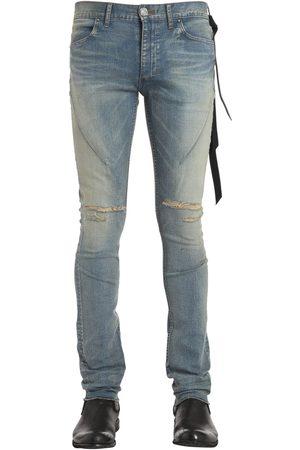 SEIGEKI 16cm Enge, Blaue Jeans Aus Denim