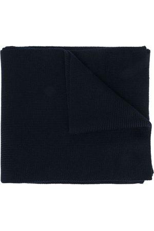 Moncler Herren Schals - Logo-patch virgin wool scarf