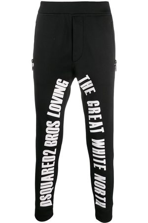 Dsquared2 Graphic lettering track pants