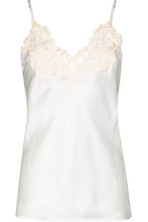 La Perla Damen Unterhemden & Unterziehshirts - Maison lace-trim camisole