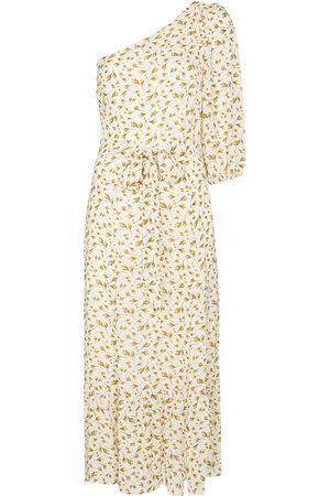 Reformation Damen Asymmetrische Kleider - Freeport floral-print one-shoulder dress