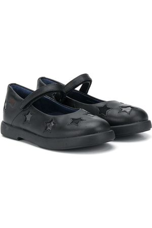 Camper Kids Duet star-patch ballerina shoes