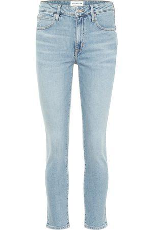 SLVRLAKE High-Rise Cropped Jeans Lou Lou