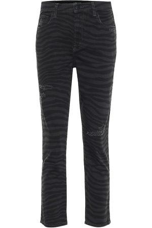 J Brand High-Rise Slim Jeans Ruby