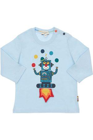 Paul Smith Herren Shirts - T-shirt Aus Baumwolljersey Mit Druck