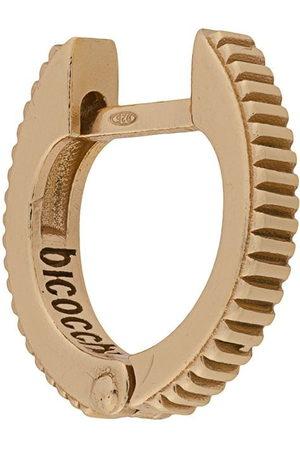 EMANUELE BICOCCHI Crown textured hoop earring
