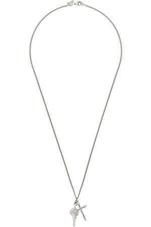 EMANUELE BICOCCHI Cross-pendant long necklace