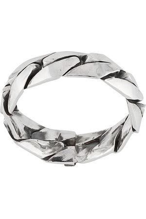 EMANUELE BICOCCHI Engraved-logo band ring