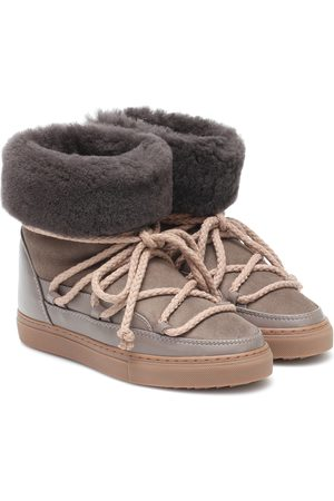 INUIKII Ankle Boots Classic mit Shearling