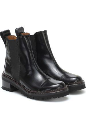 See by Chloé Chelsea Boots aus Leder