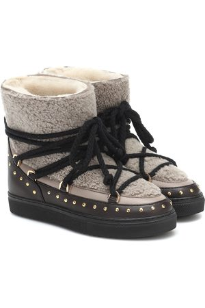 INUIKII Ankle Boots Curly Rock mit Shearling