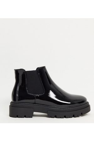 Glamorous Wide Fit Chunky chelsea boot in
