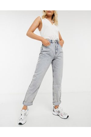ASOS High rise 'slouchy' mom jeans in antique wash