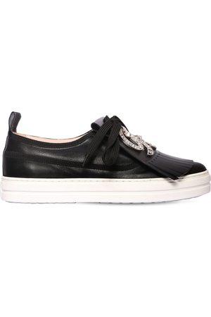 "Roger Vivier 20mm Hohe Sneakers Aus Leder ""call Me Vivier"""