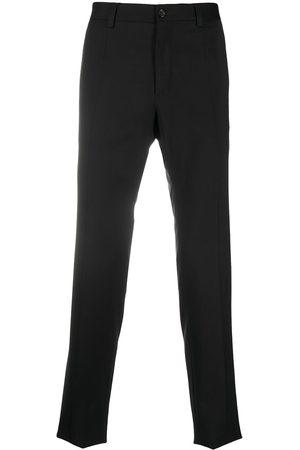 Dolce & Gabbana Herren Hosen & Jeans - Side-strap virgin wool trousers
