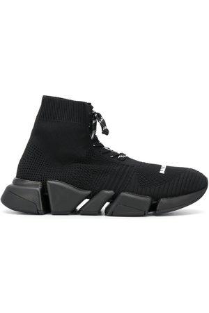Balenciaga Damen Schnürschuhe - Chunky lace-up sock trainers