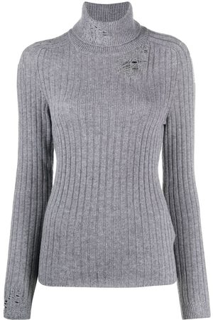 Maison Margiela Distressed knitted jumper