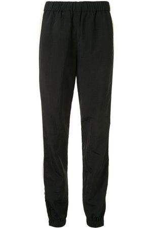 Kenzo Damen Jogginghosen - Side-zip stripe trackpants