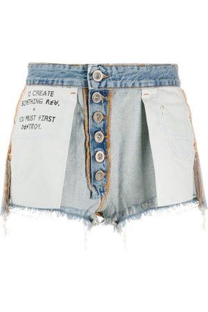 Unravel Project Damen Shorts - Reversed short shorts