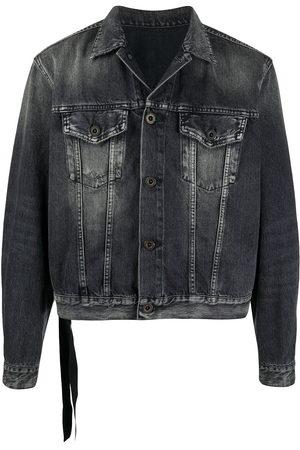 Unravel Project Stonewashed denim jacket
