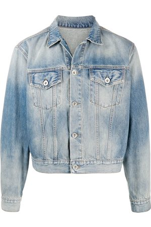 Unravel Project Herren Jeansjacken - Cropped denim jacket