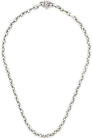 EMANUELE BICOCCHI Skull chain-link necklace