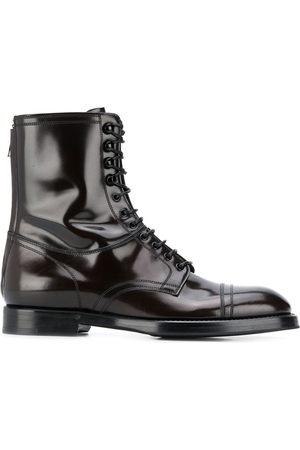 Dolce & Gabbana Herren Stiefel - Michelangelo lace-up boots