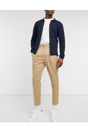 ASOS Tapered smart trousers in