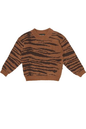 Mini Rodini Sweatshirt aus Wolle und Baumwolle