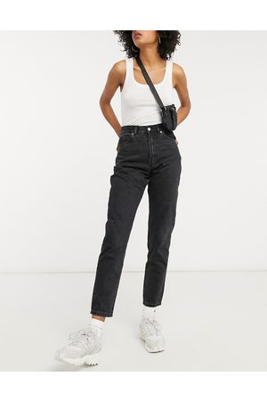 Dr Denim Nora high rise mom jeans in
