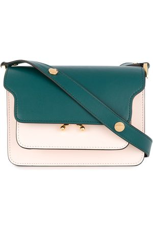 Marni Flap colour-block shoulder bag