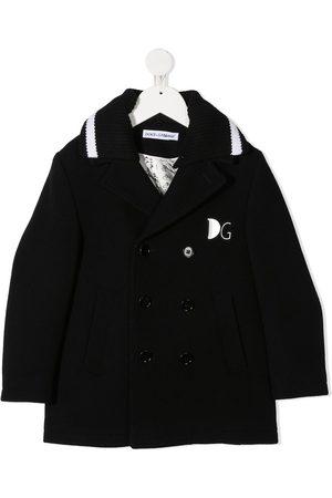 Dolce & Gabbana Jungen Mäntel - Double-breasted wool coat