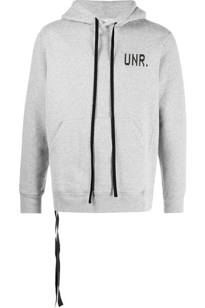 Unravel Project Logo print hoodie
